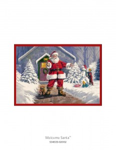Milliken Christmas Rugs 1 6